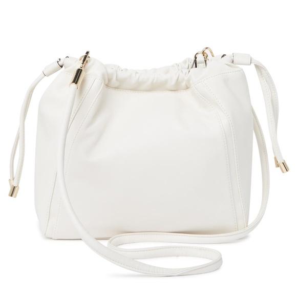 Calvin Klein sienna leather crossbody bag